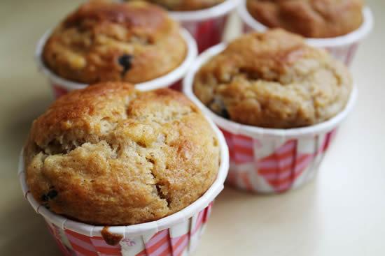 Yumuşacık Muzlu Muffin