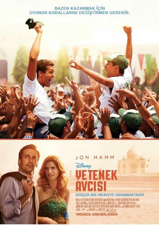 Yetenek Avcısı (MILLION DOLLAR ARM) Filmi Türkçe Afiş Ve Alt Yazılı Fragman