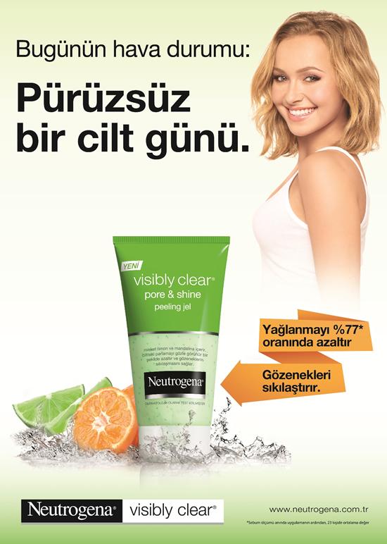 Yeni Neutrogena® Visibly Clear® Pore&Shine Serisi İle Pürüzsüz Bir Cilt Günü