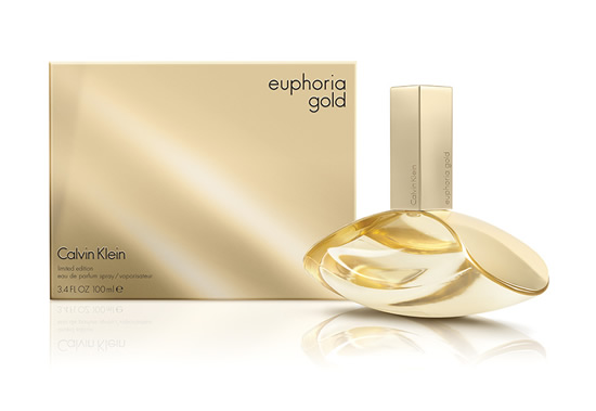 CALVIN KLEIN EUPHORIA GOLD; pırıl pırıl, kışkırtıcı bir rüya...