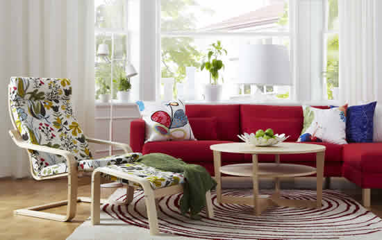 IKEA İle Oturma Odaları, Rahatlık ve Mutluluğun Paylaşım Alanları