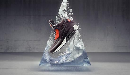 Nike'ın ikonik ayakkabı tasarımları, kötü hava şartlarına meydan okumak için