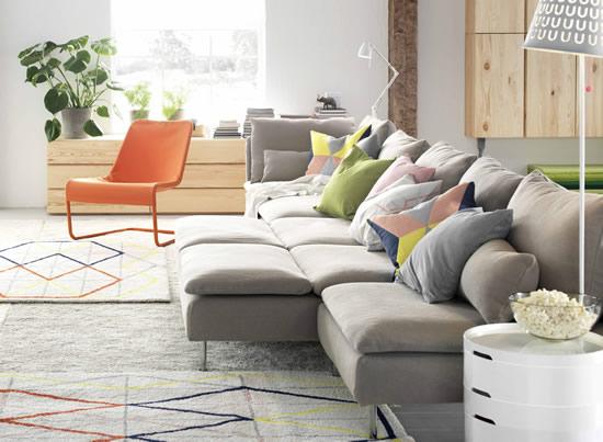 IKEA İle Oturma Odaları, Rahatlık ve Mutluluğun Paylaşım Alanları…