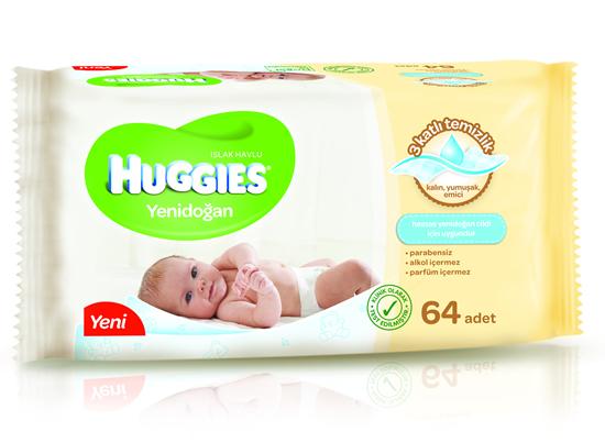 Huggies'den Islak Mendil Kategorisinde Devrim!