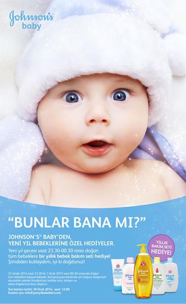 Johnson's® baby 2015'in İlk Bebeklerini Bekliyor