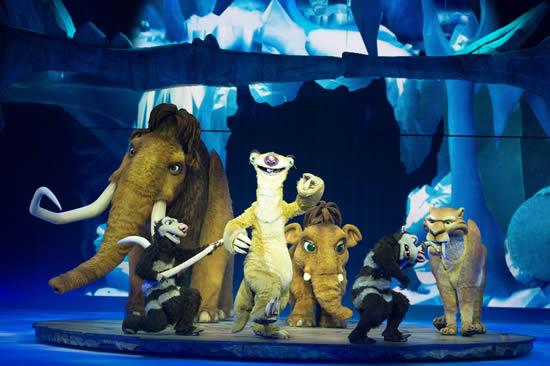 """Yarıyıl Tatilde Aileler İçin En Eğlenceli Etkinlik """"Buz Devri Canlı"""